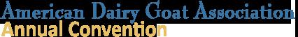 ADGA Annual Convention